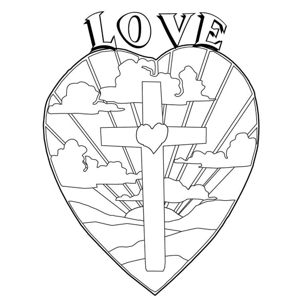 Love is Bible Story Card Based on 1 Corinthians 13
