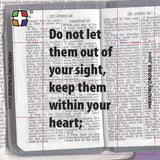 Proverbs 4:20 - 24 cards per pack