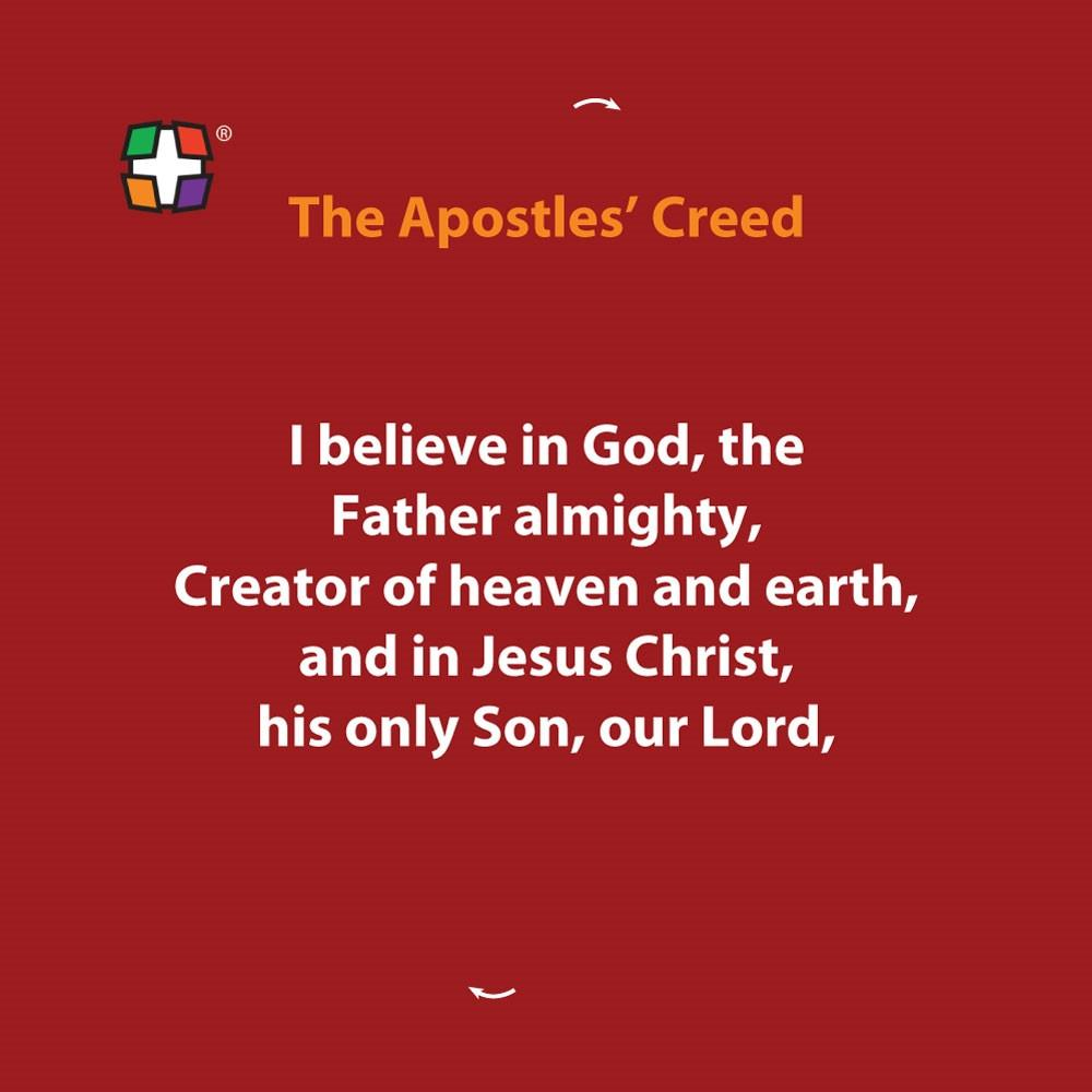 Apostles' Creed - Catholic Version 24 per pack