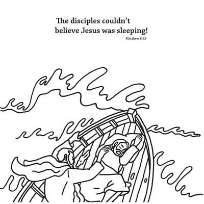 matthew 8 coloring pages - photo#43
