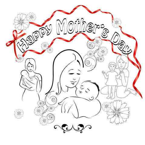 Mothers Day Card based on 1 Corinthians 13   - 12/Pk Size: 6 x 6