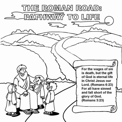 The Roman Road Tract: Pathway to Life NIV 12/Pk.  Size: 6 x 6