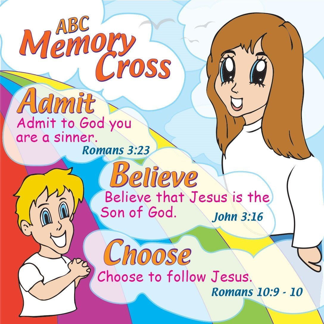 abc memory cross tract for kids