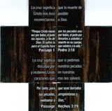 What does the cross really mean? - Spanish Version 24 to a pack