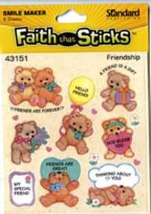 Faith that Sticks Friendship - 6 sheets per pack