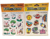 Christian Sticker Mega-Pack - Stars, Mini Turkey, Lighthouses, Smile, Lambs, Mottos, Lords Prayer