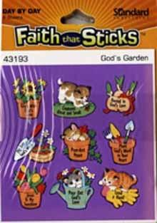 God's garden  6 sheets per pack