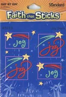 Faith that Sticks Joy Stickers 6 sheets per pack