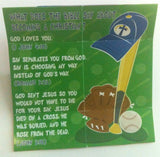 Sports ABC Memory Cross 25 per pack.  Size: 3 3/8 x 3 3/8
