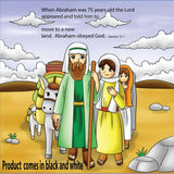 The Story of Abraham, Sarah and Issac - 12/Pk size: 6 x 6