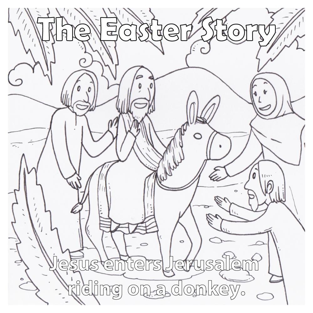 Easter Story for Children - 12 per pack