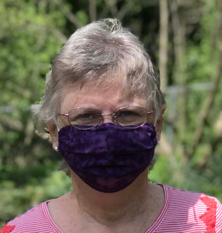 1 Face Mask - 100% tight weave cotton, reusable and washable with pocket for optional filter - Free shipping in USA