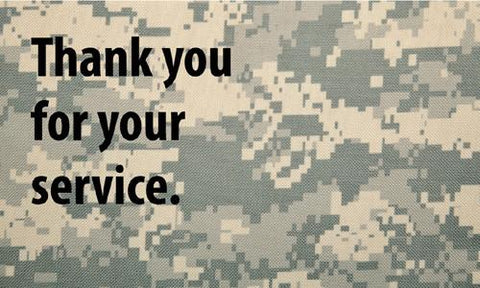 Support Our Troops Gospel Tract - 24 Per Pack