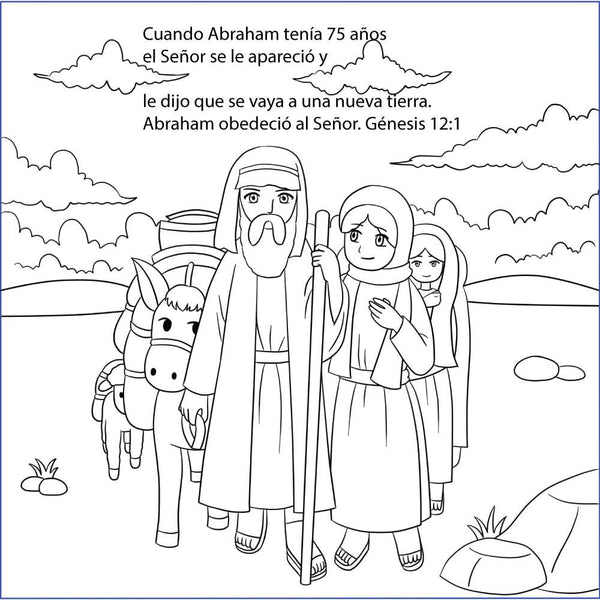 Abraham And Sarah For Children In Spanish By Memory Cross