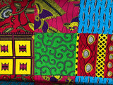 100% Cotton Fabric in bright colorful patterns
