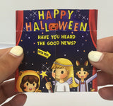 Halloween Gospel Tract for Children Imprinted with Church Name