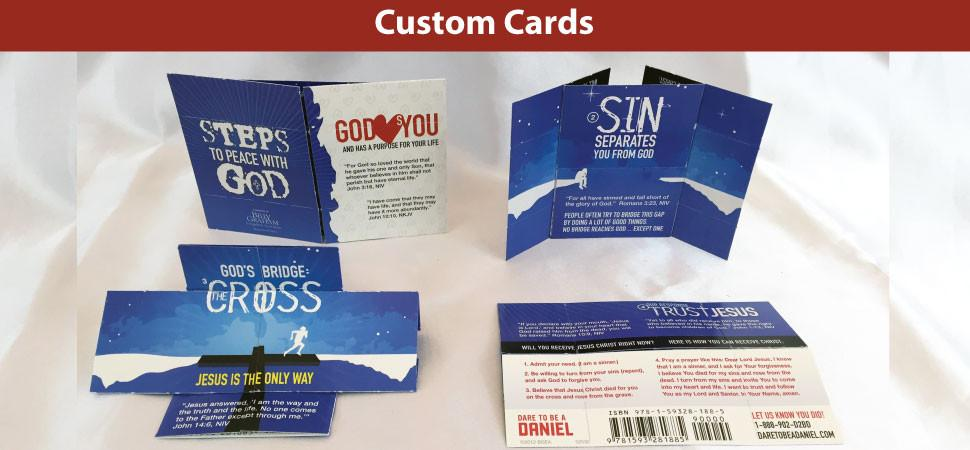 Customized Memory Cross Cards