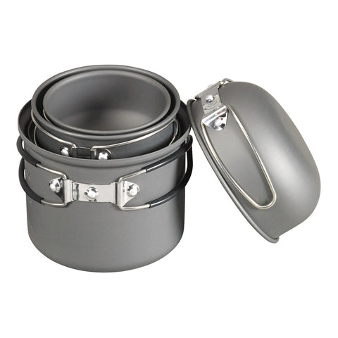 NDūR® 6 PIECE ESSENTIALS COOKWARE MESS KIT
