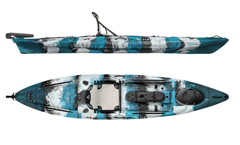 Vibe Sea Ghost 130 Angler Kayak Package **********No Shipping on this item must pickup in store********
