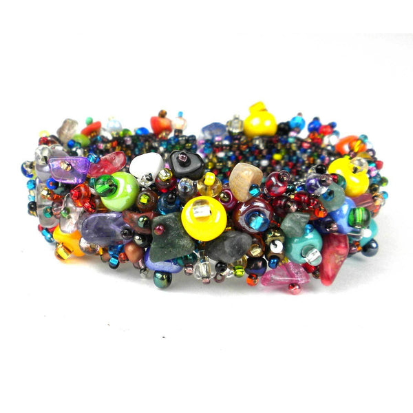 Magnetic Beach Ball Caterpillar Bracelet Multi - Lucias Imports - fairtribe