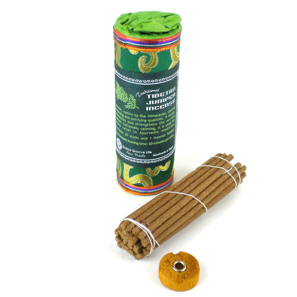 Tibetan Incense - Juniper - Global Groove - fairtribe