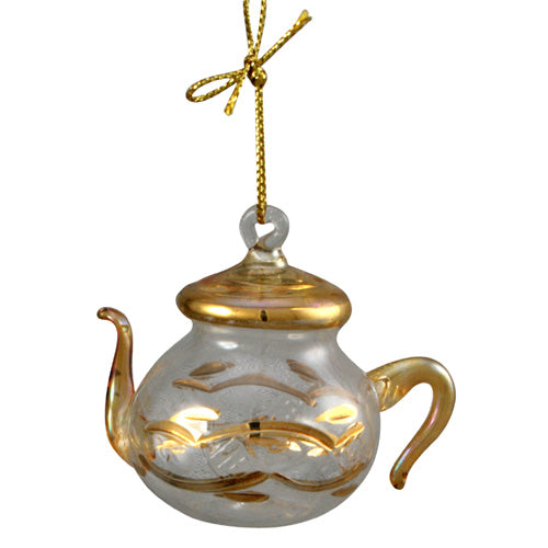 Egyptian Teapot Glass Ornaments - fairtribe