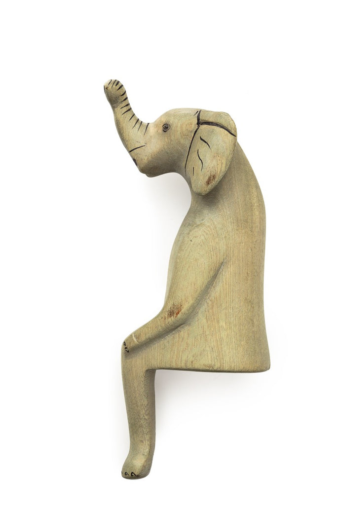 Sitting Elephant Shelf Decor - fairtribe