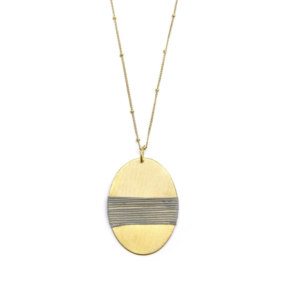 Kaia Necklace | Long with Pendant