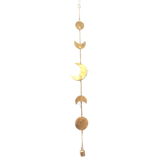 Moon Phases Chime | Gold or Silver