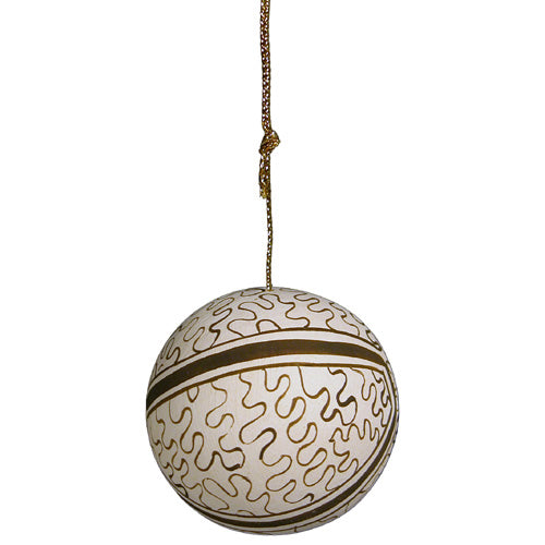 Shipibo Ball Ornament from Peru - fairtribe