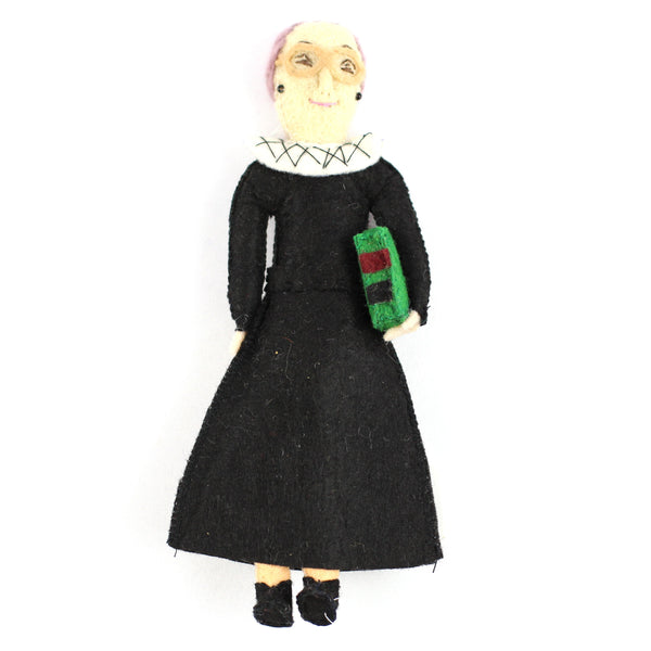 Ruth Bader Ginsburg Felt Christmas Tree Ornament - fairtribe