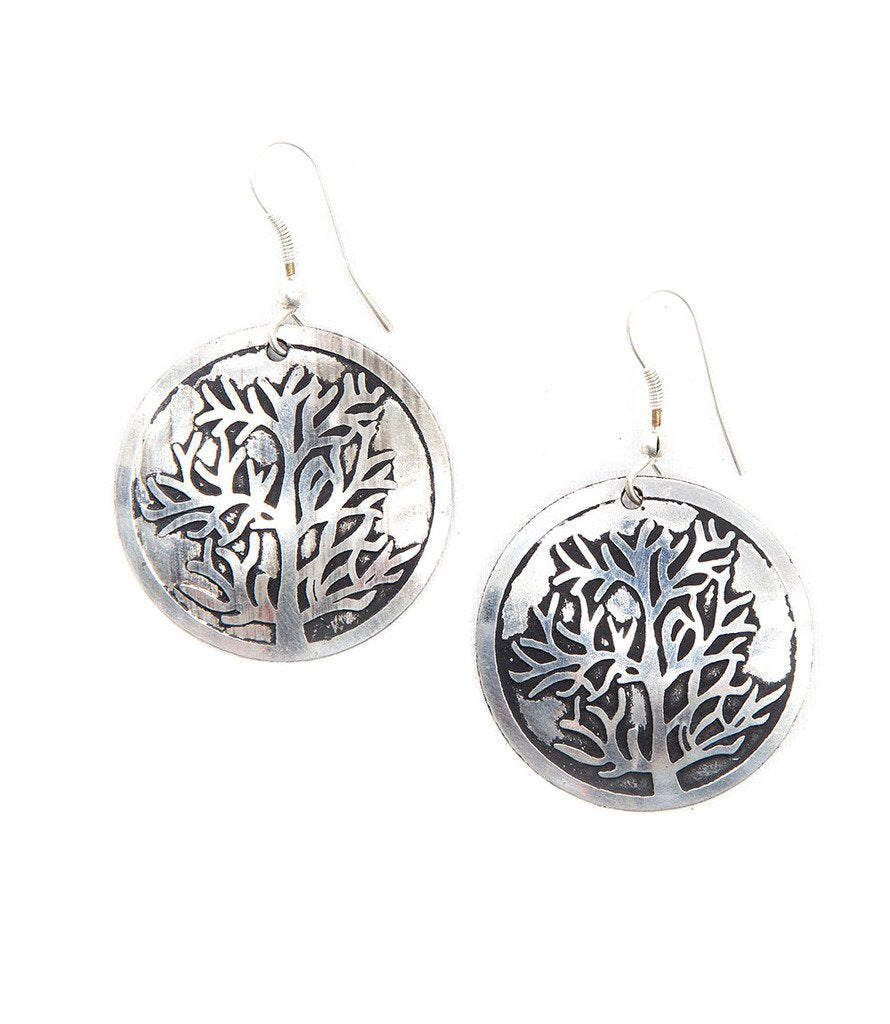 Tree of Life Earrings - Matr Boomie (Jewelry) - fairtribe