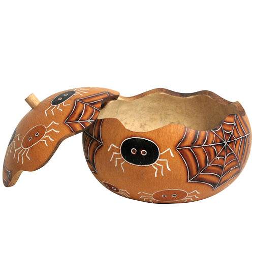 Halloween Spider Gourd Boxes - 2 sizes - fairtribe