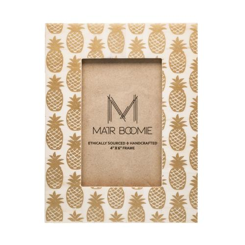 Pineapple Frame - 4 x 6 Picture - Matr Boomie (P) - fairtribe