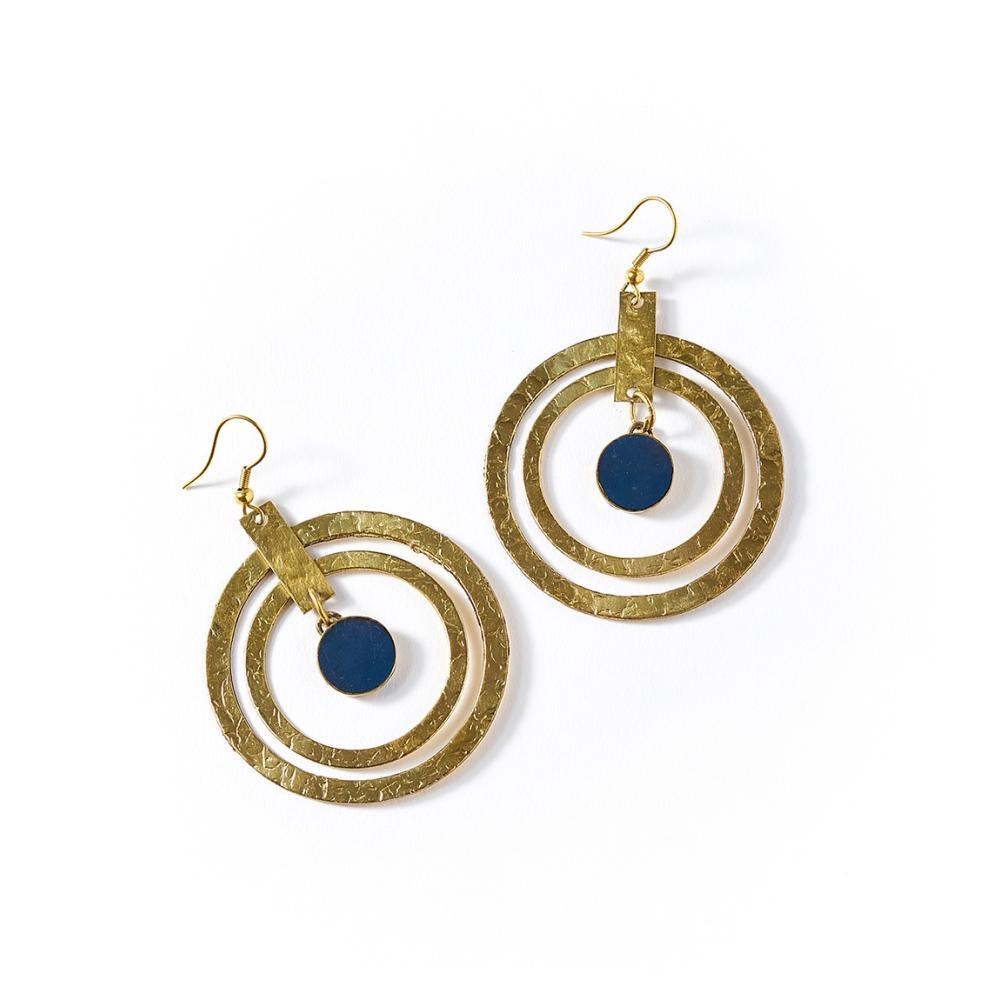 Ria Earrings | Colbat Hoop