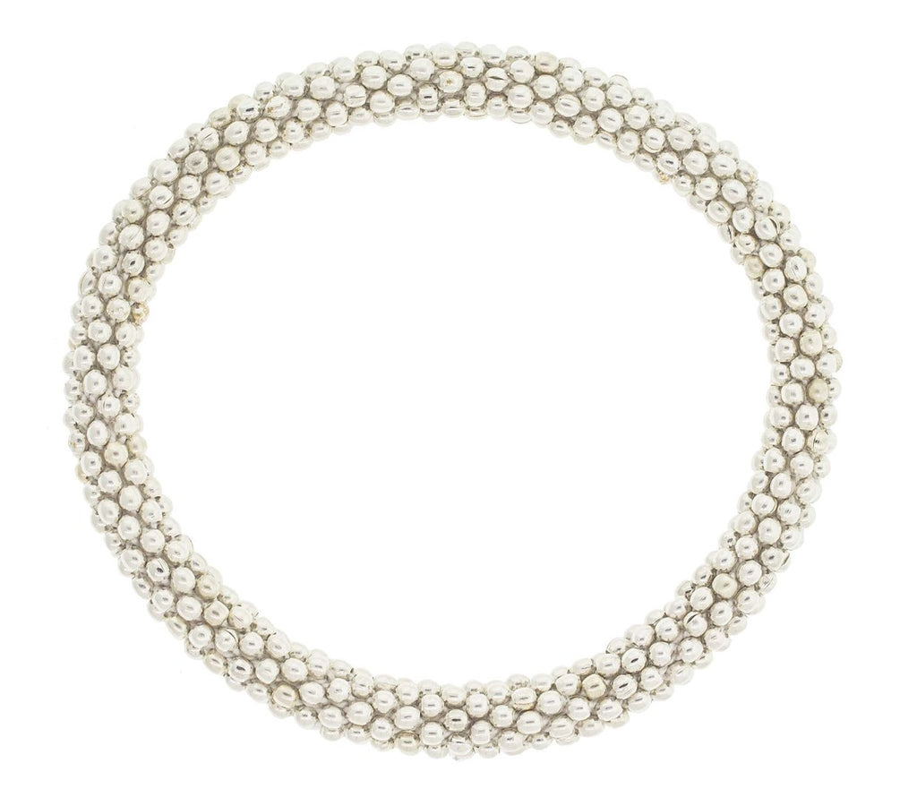 Pearl White | Single Roll-On Bracelet