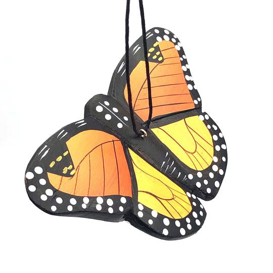 Monarch Butterfly | Balsa Wood Ornament | Fair Trade