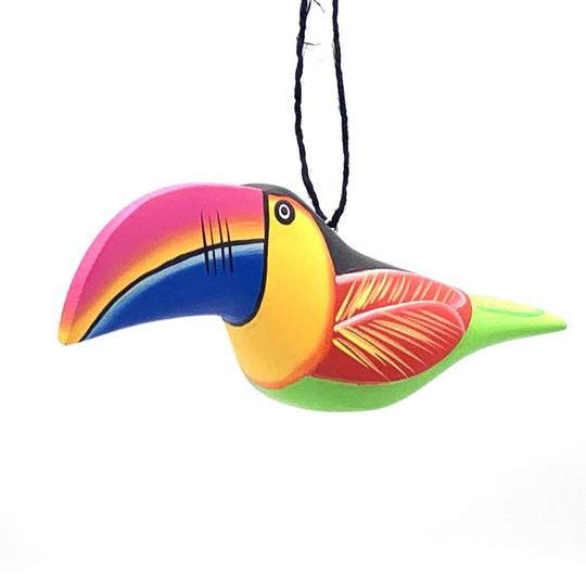Colorful Toucan | Balsa Wood Ornament | Fair Trade