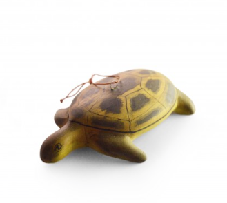 Hand-carved Sea Turtle Ornament - fairtribe