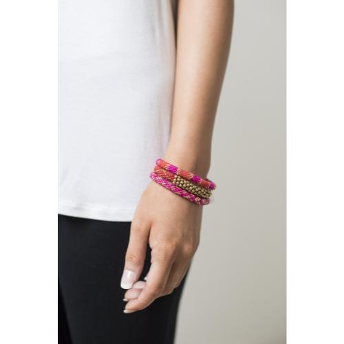 Statement Roll-On Bracelets, Carousel - Aid Through Trade - fairtribe