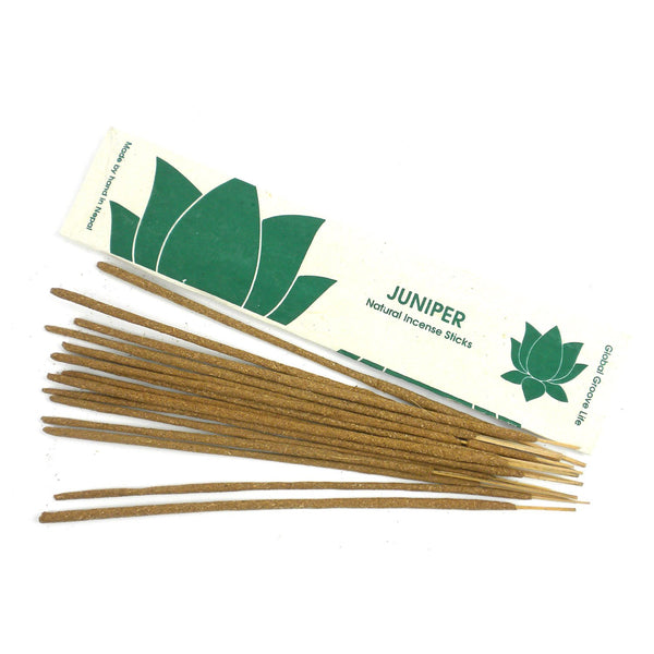 Stick Incense, Juniper - Global Groove (I) - fairtribe