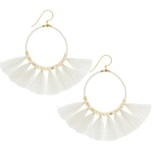 The Dreamer Earring, Cream - Aid Through Trade - fairtribe