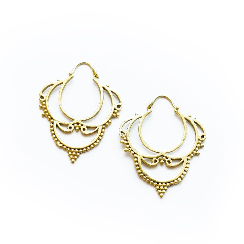 Chateau Earrings - fairtribe