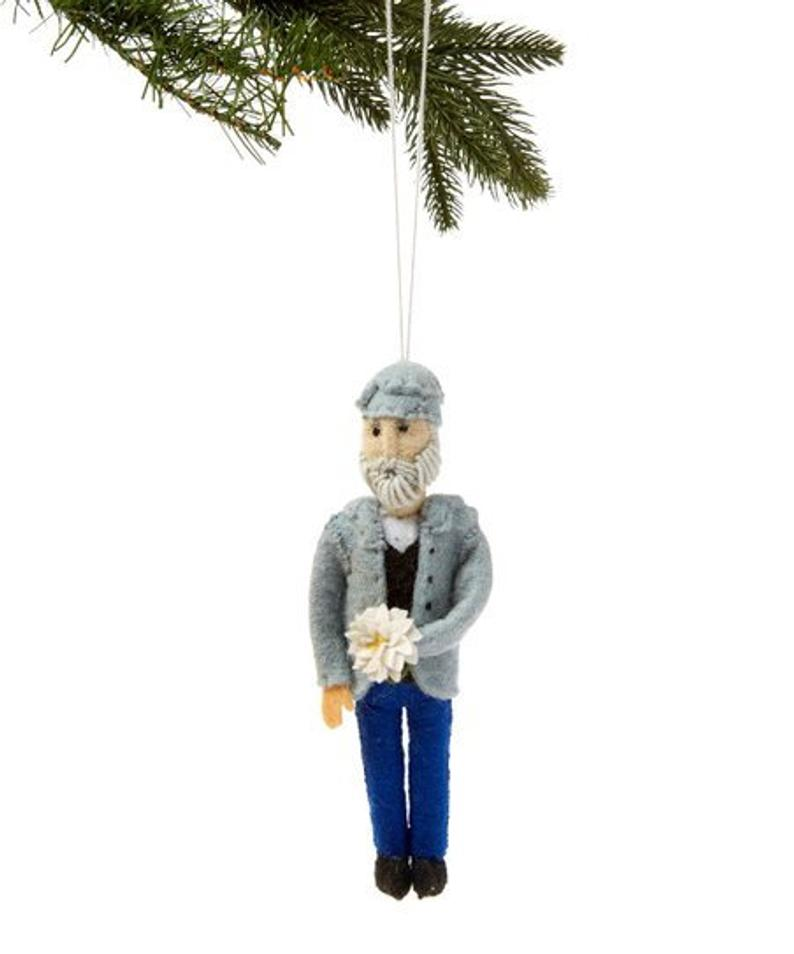 Claude Monet Christmas Tree Ornament