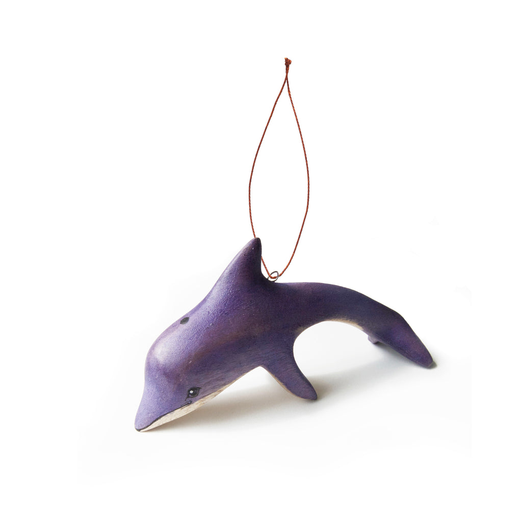 Hand-carved Dolphin Ornament - fairtribe