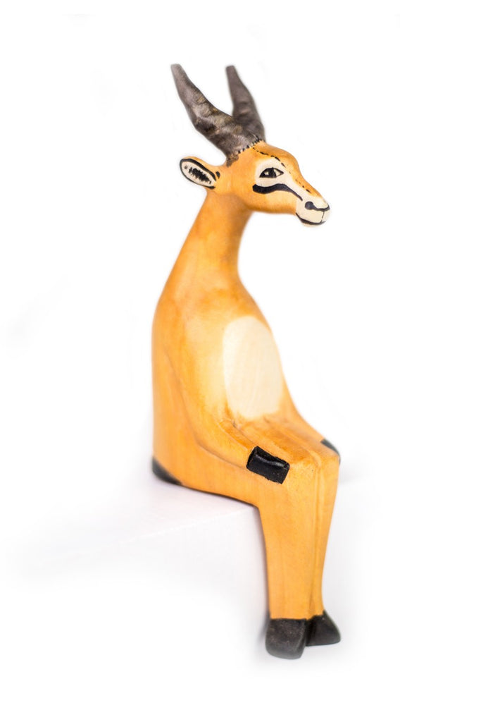 Sitting Antelope Shelf Decor - fairtribe