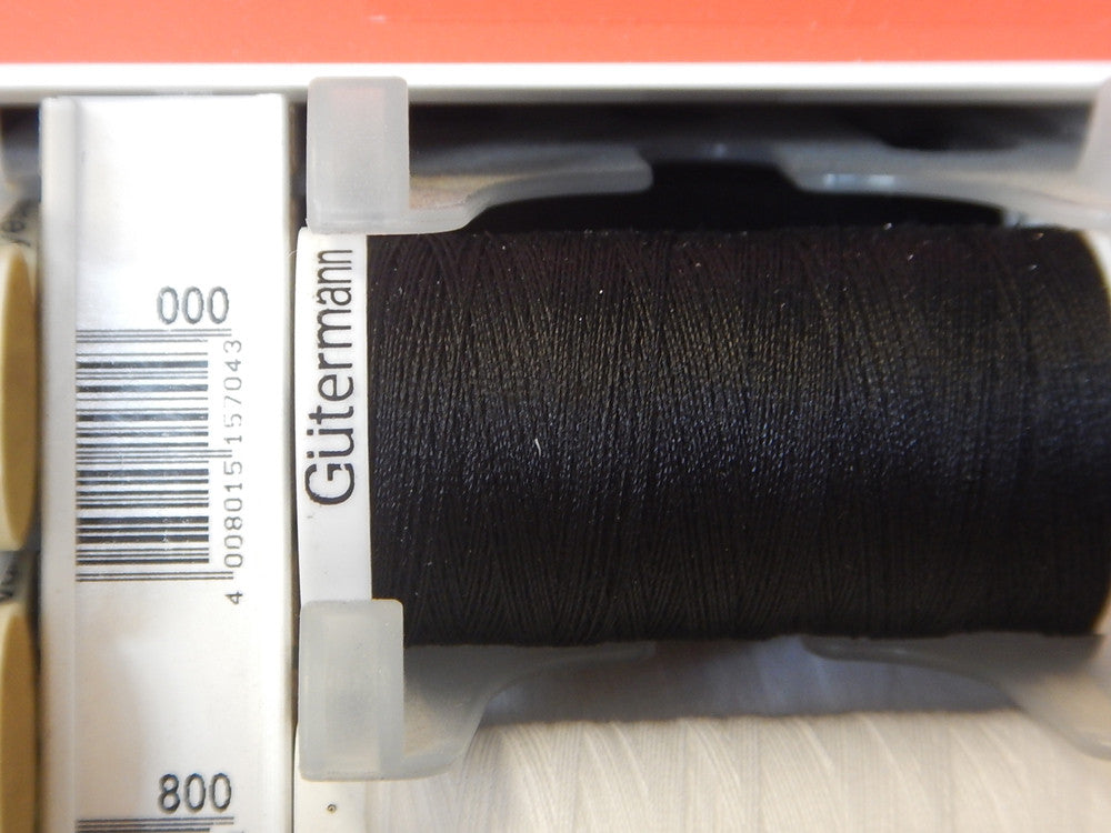 Sew All Gutermann Thread - 250m - Colour 000 - Craftyangel