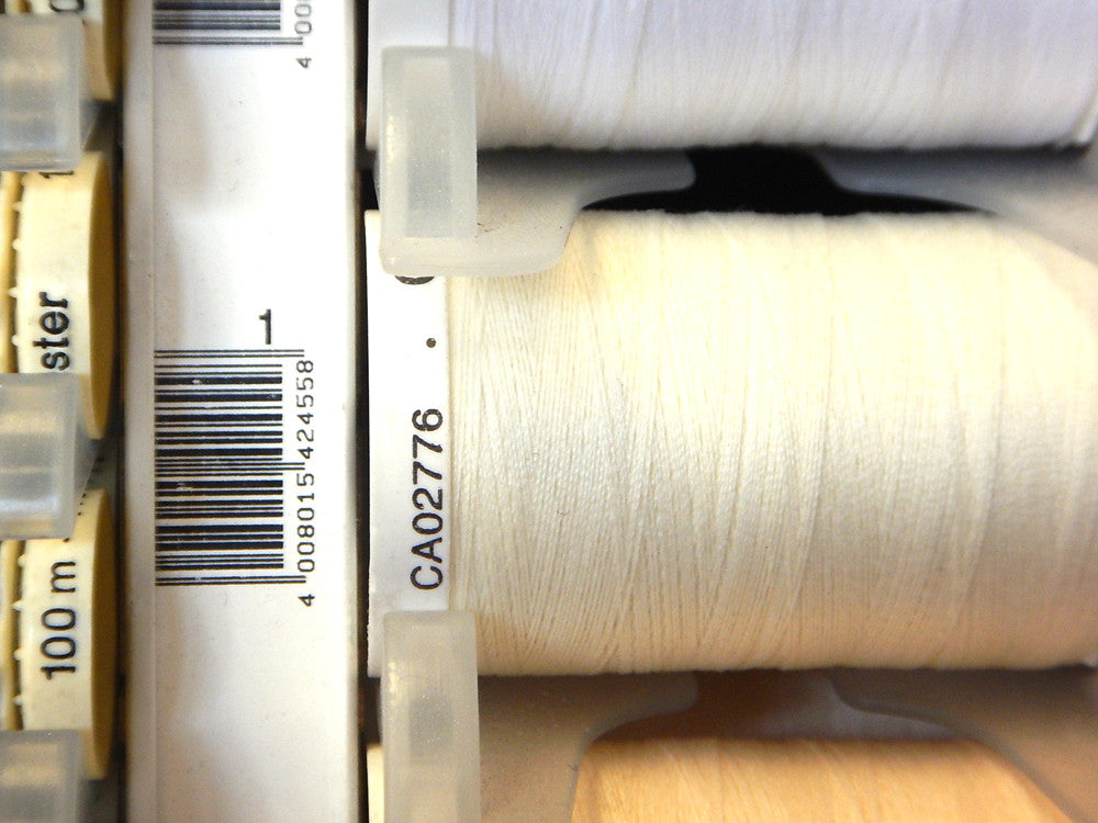 Sew All Gutermann Thread - 500m - Colour 1 - Craftyangel
