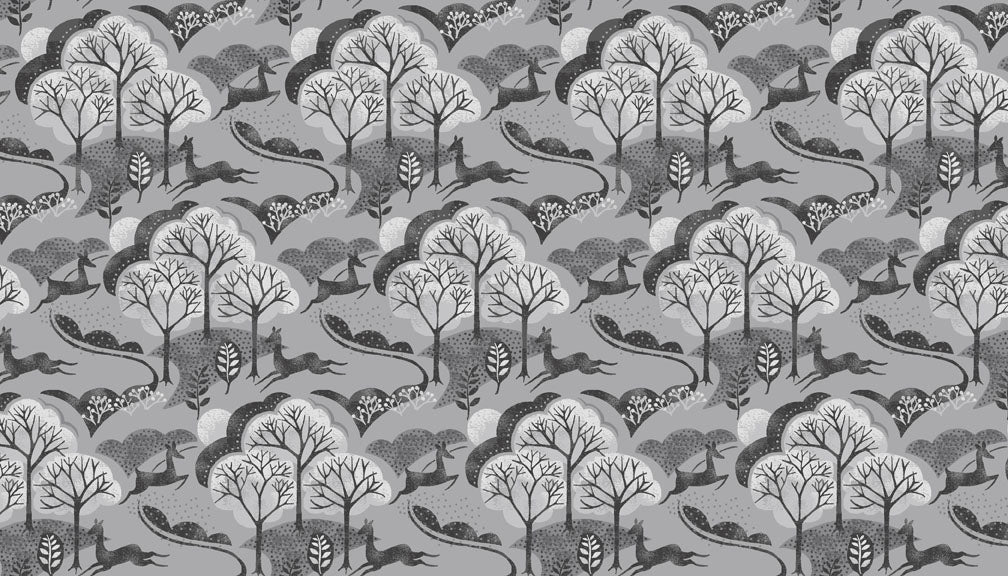 Into the Woods - Tree - Grey