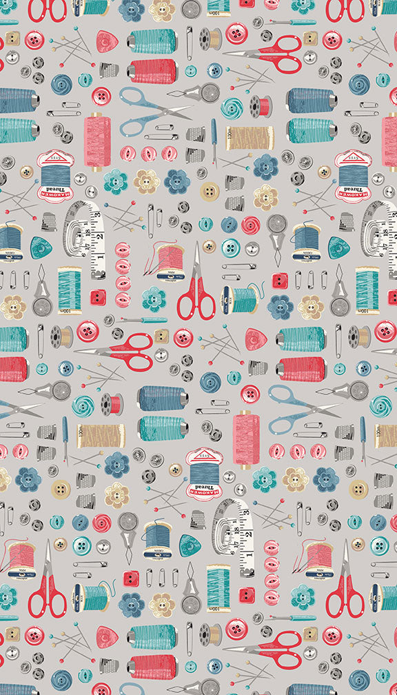 Stitch in Time - Haberdashery/Notions - Grey